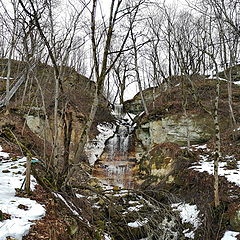 """photo """"Spring at Saka Falls. Estonia"""""""