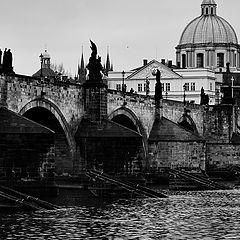 """photo """"Башни и мост"""""""