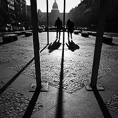 """photo """"Утро на площади"""""""