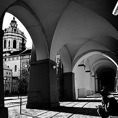 "photo ""Башня и аркада"""