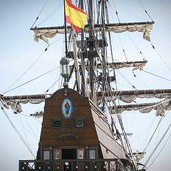"""photo """"sailing ship Andalucia"""""""