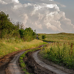 """photo """"Country road"""""""