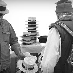 "photo ""selling hats, the choice"""
