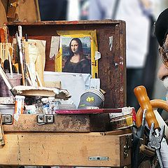 """фото """"Place du Tertre: A life in a briefcase"""""""