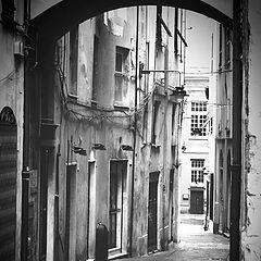 """photo """"old town, lane"""""""