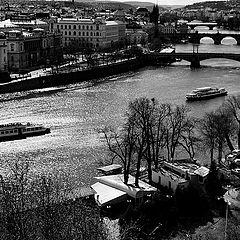 "photo ""Прага и Влтава"""