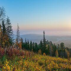 """фото """"Осень, туманное утро"""""""