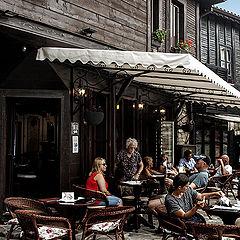 """photo """"Кофе в Несебре / Болгария /"""""""