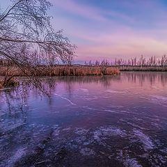 """фото """"Утренний лед"""""""