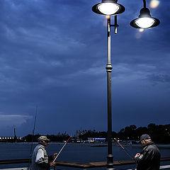 """photo """"Ночная рыбалка"""""""