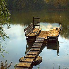 """фото """"Вечер у тёплой реки"""""""