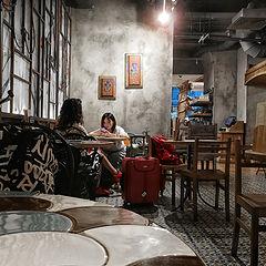 "фото ""О китаянке в московском кафе..."""