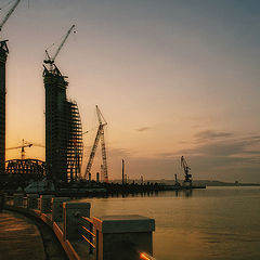 "photo ""A city is being built ..."""