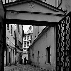 """photo """"Улица и ворота"""""""
