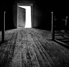 "photo ""Light behind the Door"""