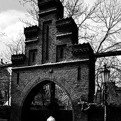 "photo ""Ворота и фигура"""