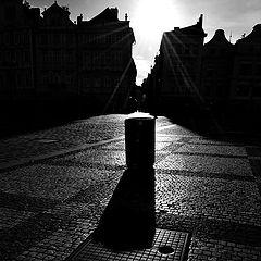 "photo ""Солнце и силуэты"""