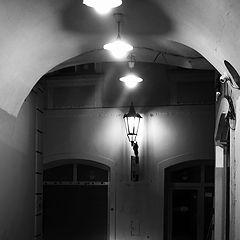 """photo """"Ночной проход и улица"""""""