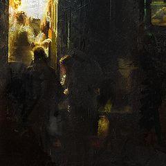 """фото """"ночная остановка"""""""