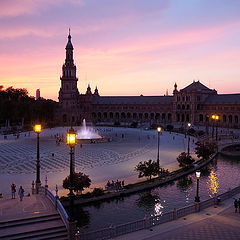 """фото """"Sunset in Seville"""""""