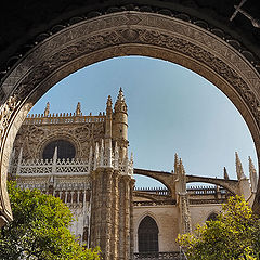 "photo ""Cathedral of Seville"""