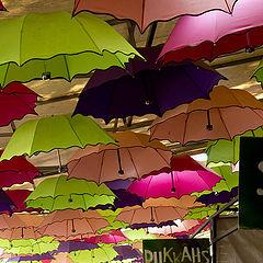 """фото """"Небо в зонтиках..."""""""
