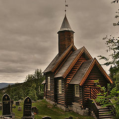 "фото ""Old church ,Norway"""