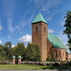 "photo ""Lutheran Church in Edola. Latvia"""