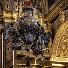 """photo """"A Lamp in Saint John's Co-Cathedral"""""""
