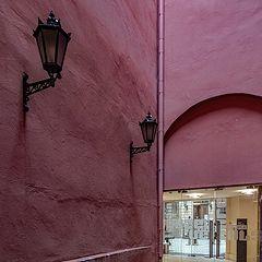 """photo """"Red Atrium"""""""