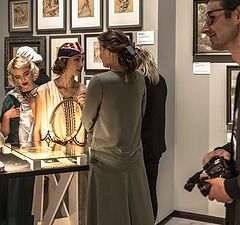"""photo """"At an Exhibition 4"""""""