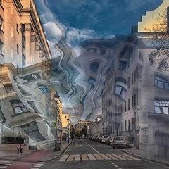 "фото ""Фантазии на тему осенней Москвы..."""