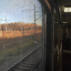"""фото """"Поезд в осень..."""""""