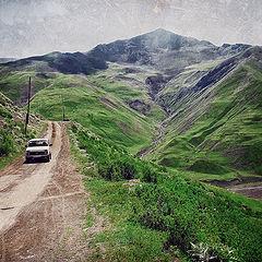 "photo ""The road to Khinalig"""