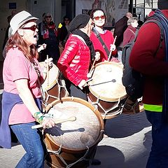 """photo """"drums in the street"""""""