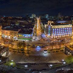 "photo ""Kiev evening"""