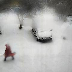 "фото ""Выпал снег"""