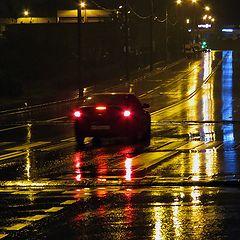 """фото """"В дождь по улице"""""""