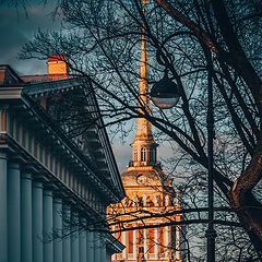 "photo ""the colors of evening Petersburg"""
