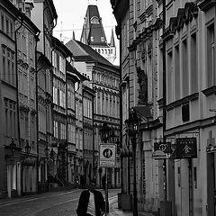 """photo """"Пешеход на улице"""""""