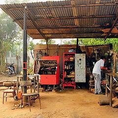 "photo ""Morning of car mechanic"""