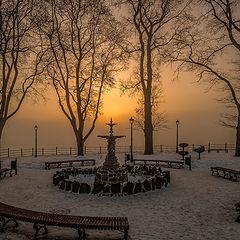 """фото """"Утренний фонтан"""""""