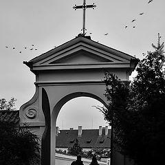 """photo """"Ворота и фигуры"""""""