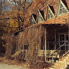 "photo ""Autumn house"""