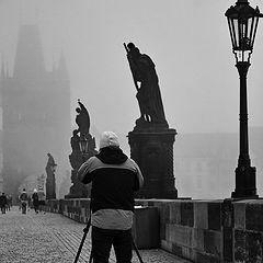 "фото ""Фотограф на мосту"""