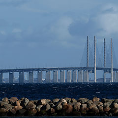 "фото ""The Öresund Bridge"""