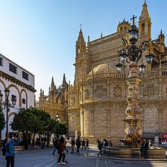 "photo ""A View of Seville Cathedral"""