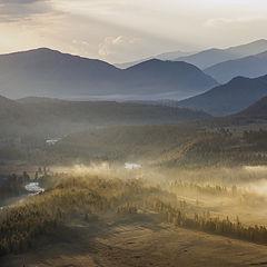"""фото """"Утро в долине"""""""