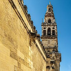 """photo """"Bell Tower of Cordoba Cathedral"""""""