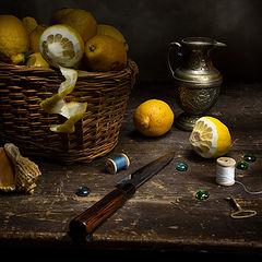 """фото """"Натюрморт с лимонами"""""""
